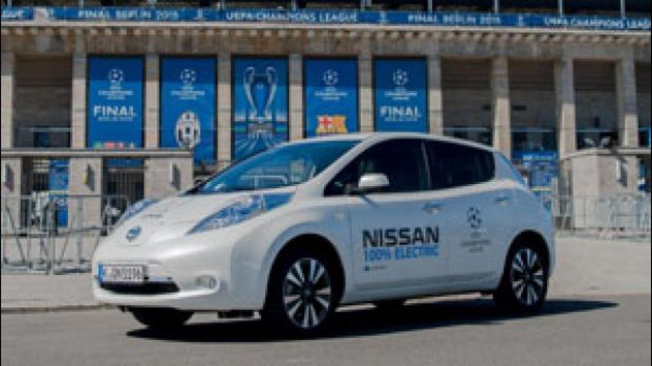 [Copertina] - Nissan in Champions League con l'elettrico