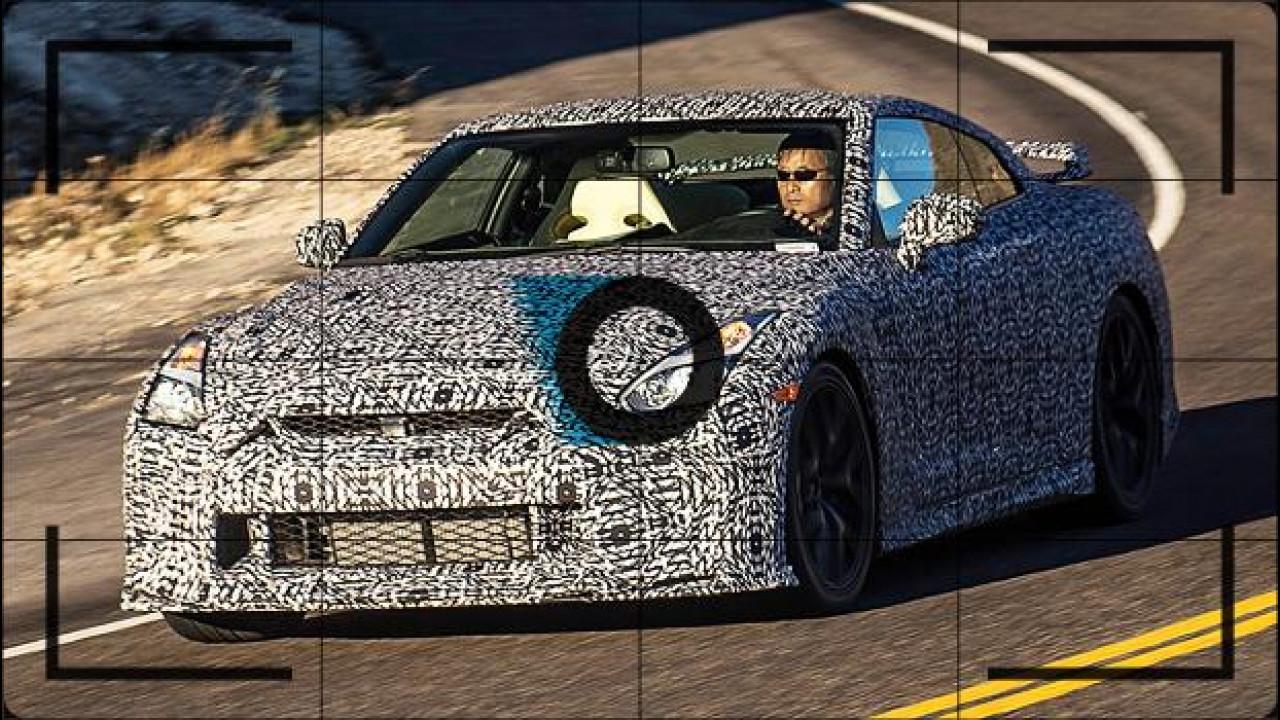 [Copertina] - Nissan GT-R, nuovo frontale per il restyling
