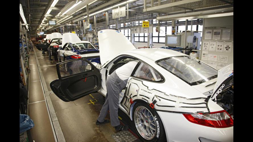 Porsche: 8.600 euro ai dipendenti, solo in Germania