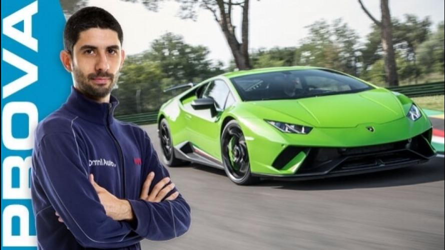 Lamborghini Huracán Performante, davvero veloce come il vento [VIDEO]
