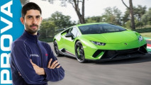 lamborghini huracan performante la video prova a imola