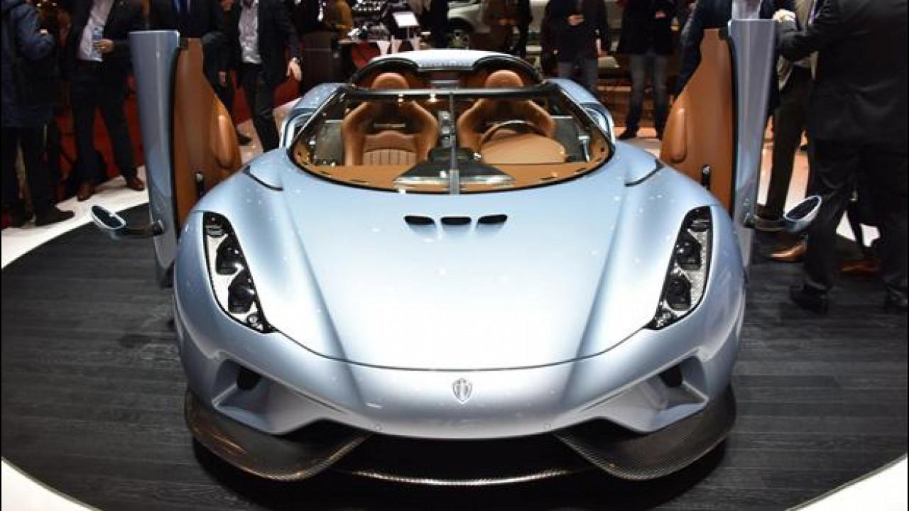 [Copertina] - Salone di Ginevra, ruggito da 1.500 CV per la Koenigsegg Regera
