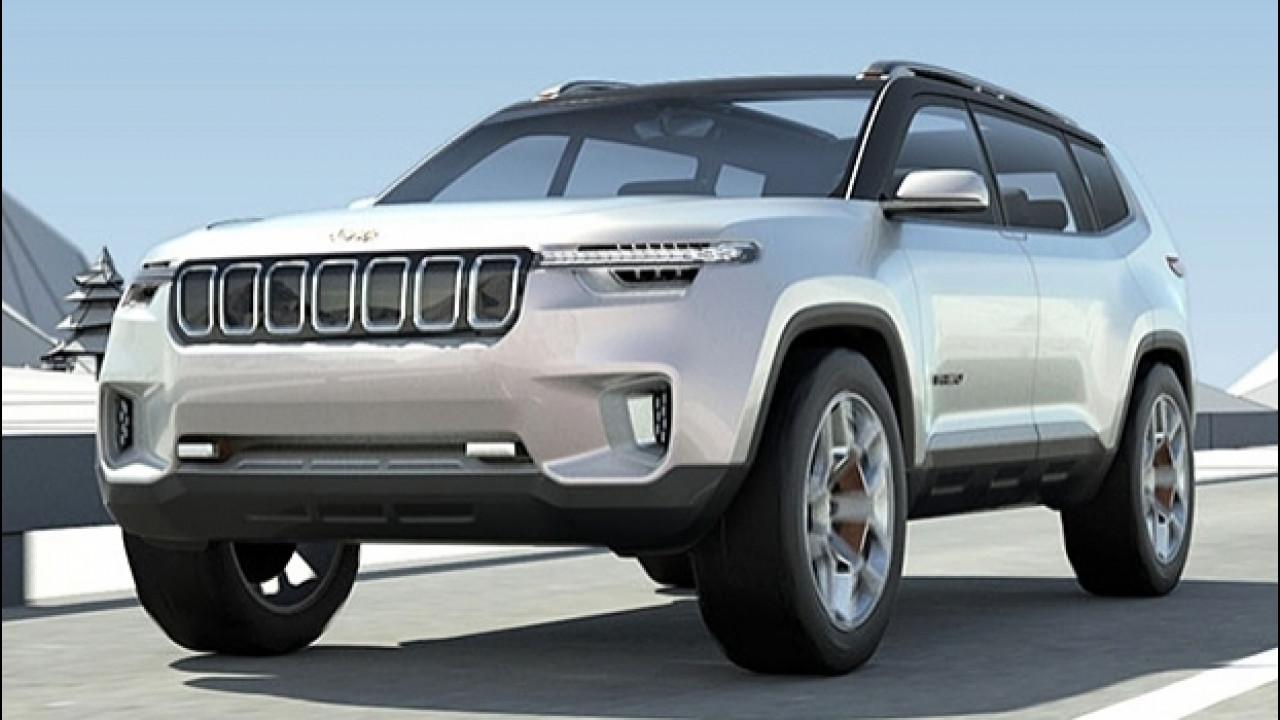 [Copertina] - Jeep Yuntu concept, prime immagini del SUV per la Cina