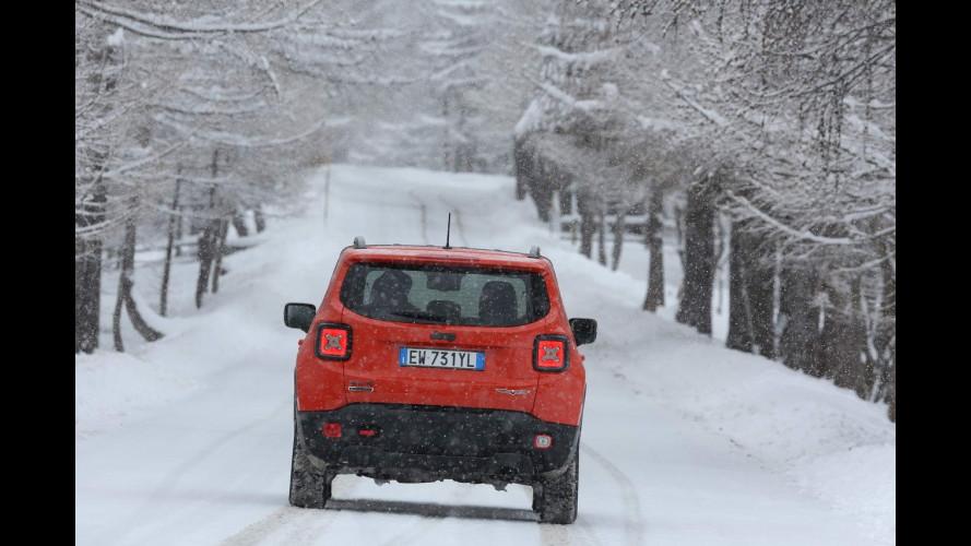 Fiat 500X e Jeep Renegade: 4x4 VS Svezia [VIDEO]