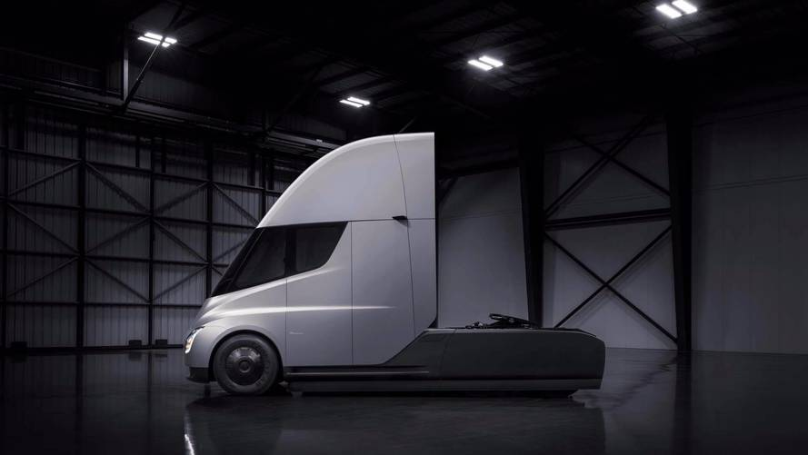 New Tesla Semi Sightings