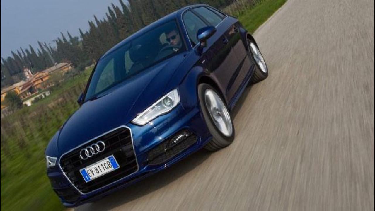 [Copertina] - Audi A3 Sportback g-tron, con il metano è convenienza vera