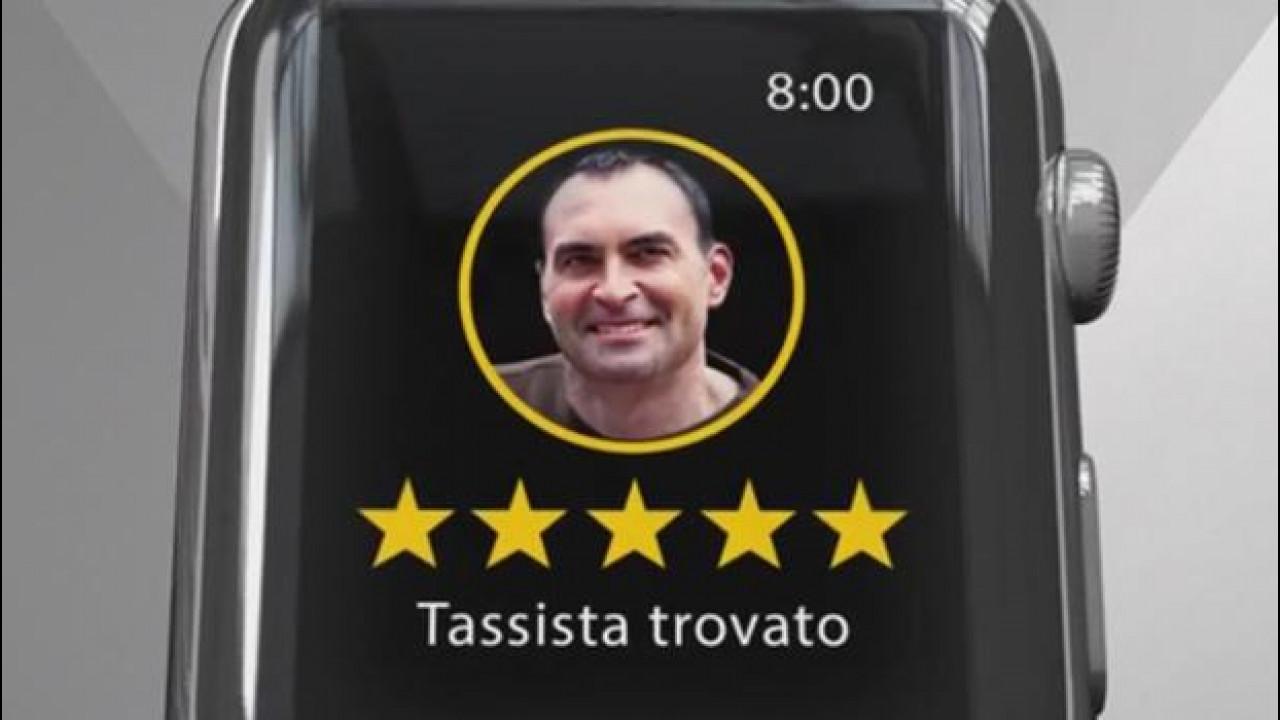[Copertina] - MyTaxi, ora il taxi si chiama con l'Apple Watch