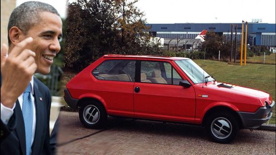 La prima auto di Obama era una Fiat Strada (Ritmo)