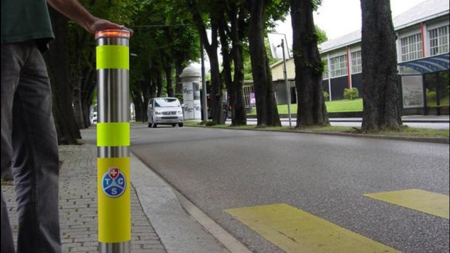 Pedoni, la sicurezza arriva dalla Svizzera