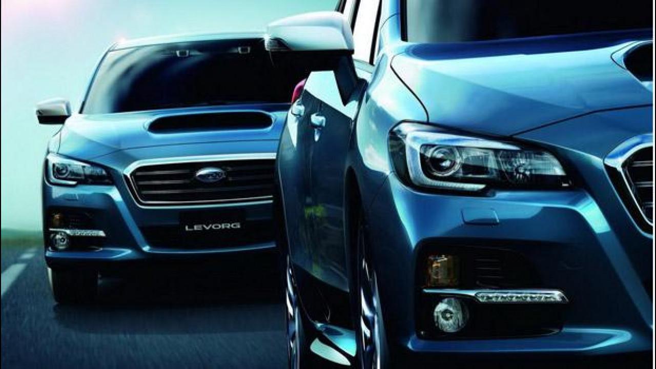 [Copertina] - Subaru Levorg Concept