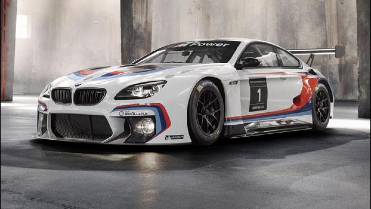 [Copertina] - Salone di Francoforte, BMW M6 Coupé GT3