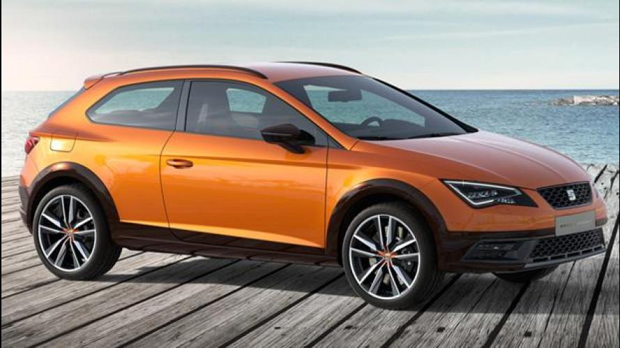 Salone di Francoforte: Seat Cross Sport, crossover da 300 CV