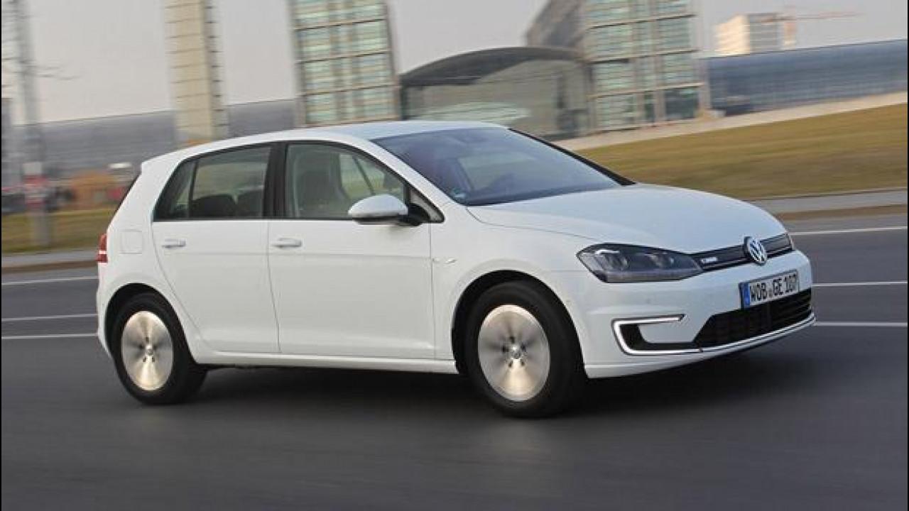 [Copertina] - Volkswagen e-Golf, das (e)Auto. La tedesca si dà una scossa