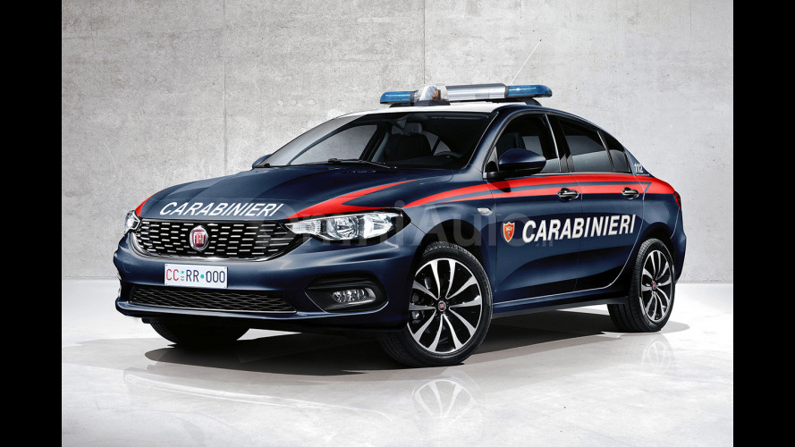 Con la nuova Tipo, Fiat tornerà in Polizia e Carabinieri?