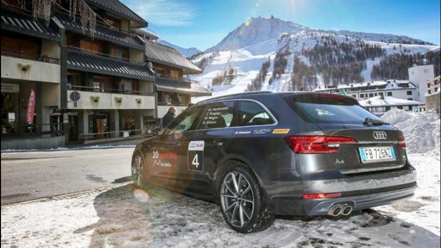 [Copertina] - Audi A4, la Avant pronta per la 20quattro ore delle Alpi
