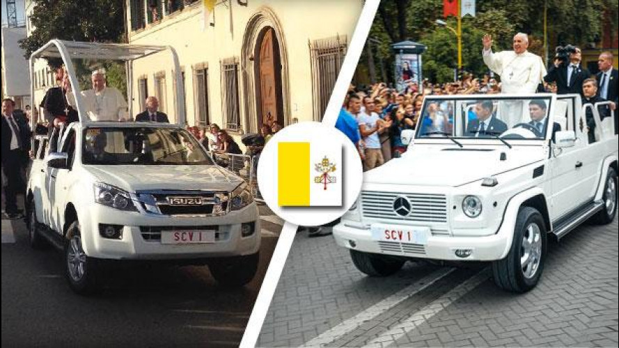 Papa Francesco, doppia papamobile a Prato e Firenze
