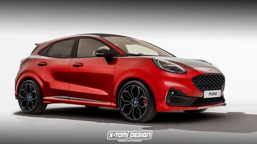 Ford Puma ST looks delicious in new rendering