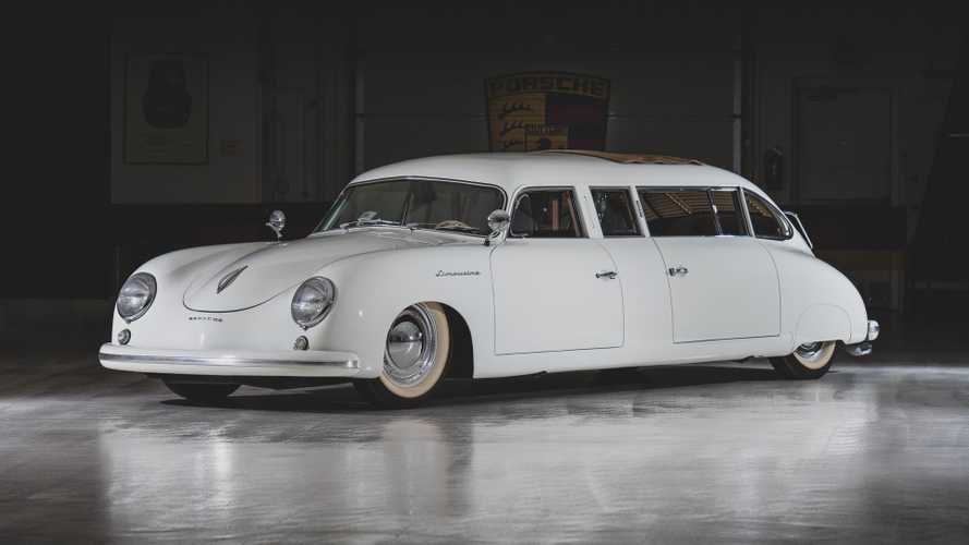 Este increíble Porsche 356 Limusina se ha vendido por 190.000 euros