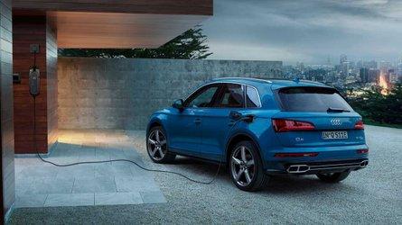 Audi Q5 55 TFSI e quattro Hints PHEV Rebound In Europe