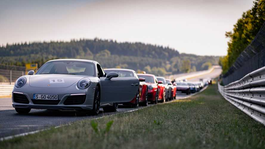 Porsche 992 Nordschleifetraining 2019
