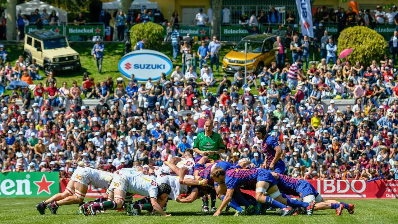Suzuki en la Copa del Rey de Rugby