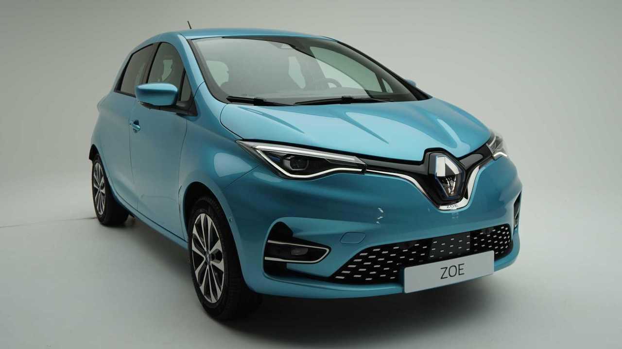 Renault Zoe 2020 - Fotos de estúdio
