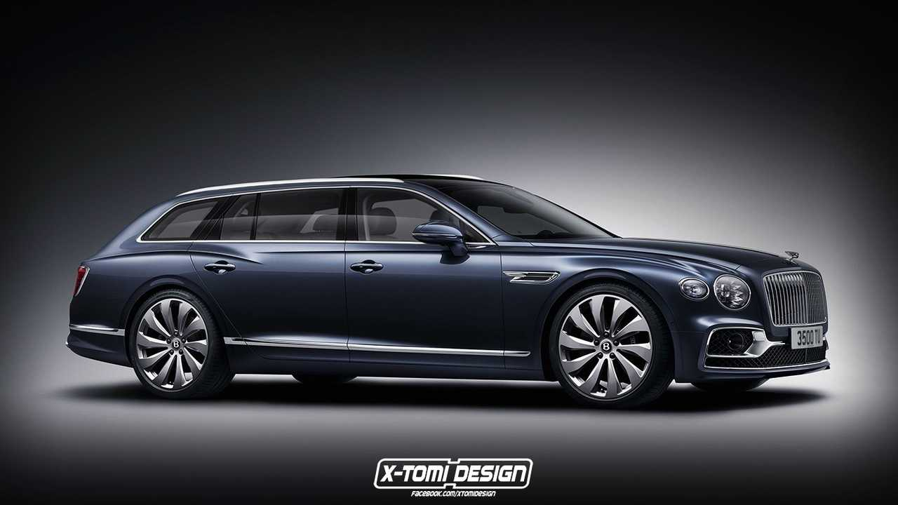 Bentley Flying Spur wagon rendering