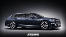 bentley flying spur wagon concepto
