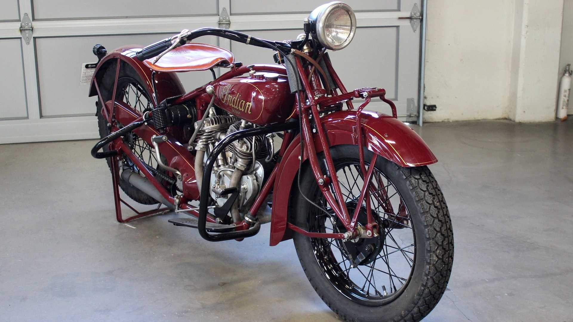 For Sale A Fully Restored 1929 Indian 101 Scout With Provenance