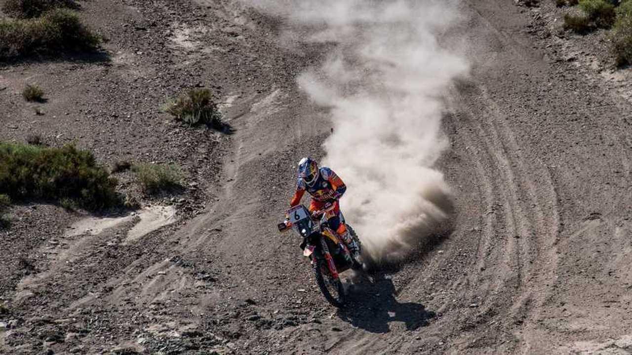 KTM wins Silk Way Rally