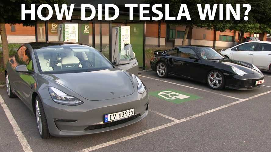 How Did The Tesla Model 3 Performance Beat The Porsche 911?