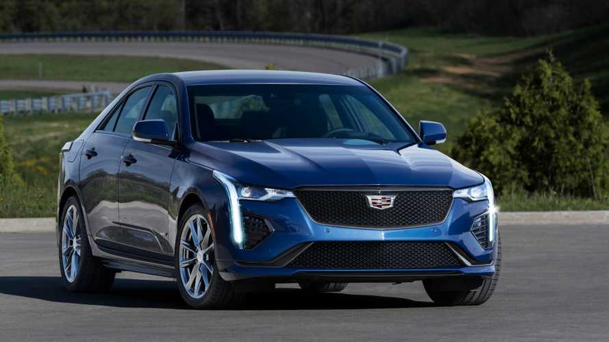 Cadillac CT4-V Has A Lot In Common With Outgoing ATS