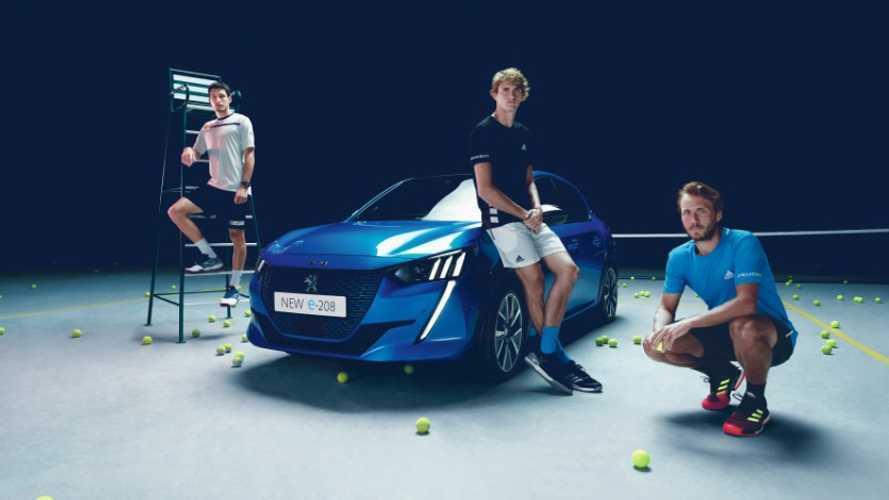 Peugeot e-208, l'autre star du tournoi de Roland-Garros 2019