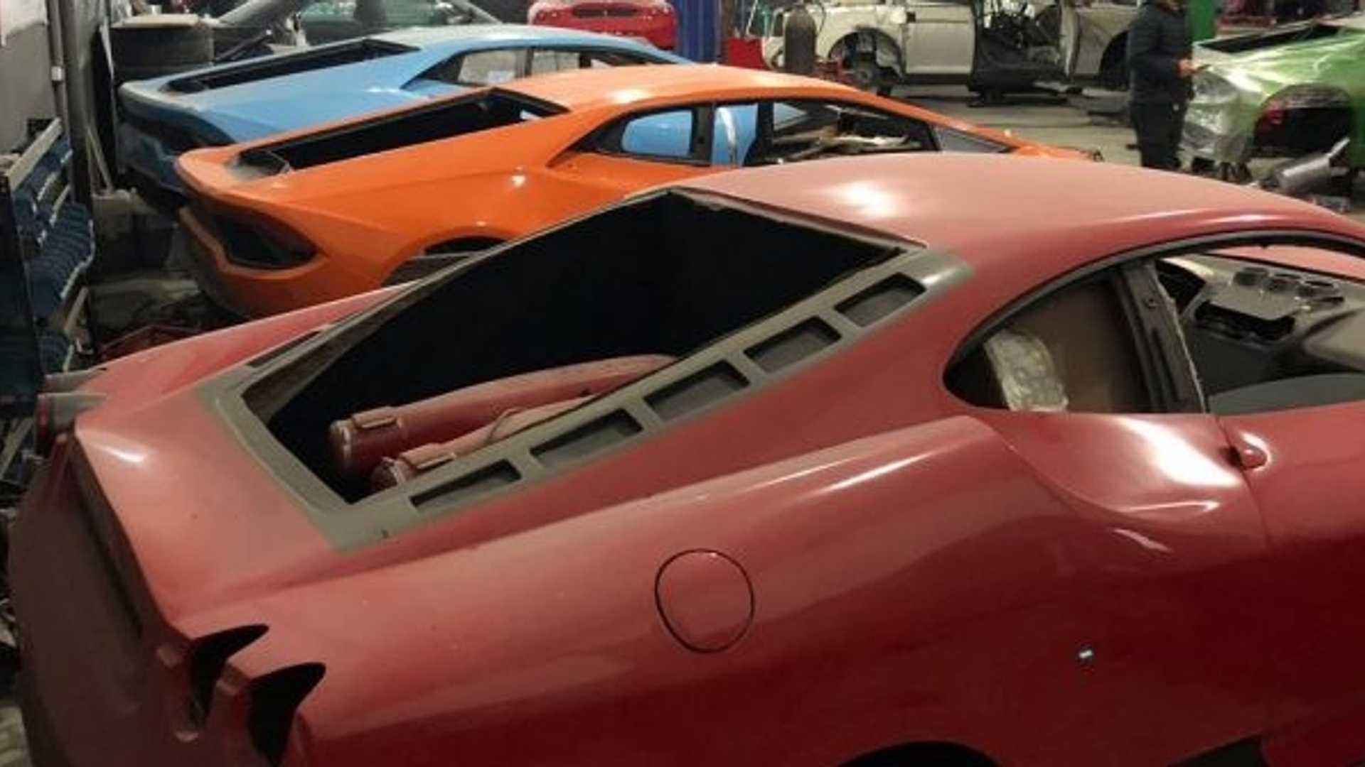 Police Shut Down Workshop Making Fake Ferraris And Lamborghinis
