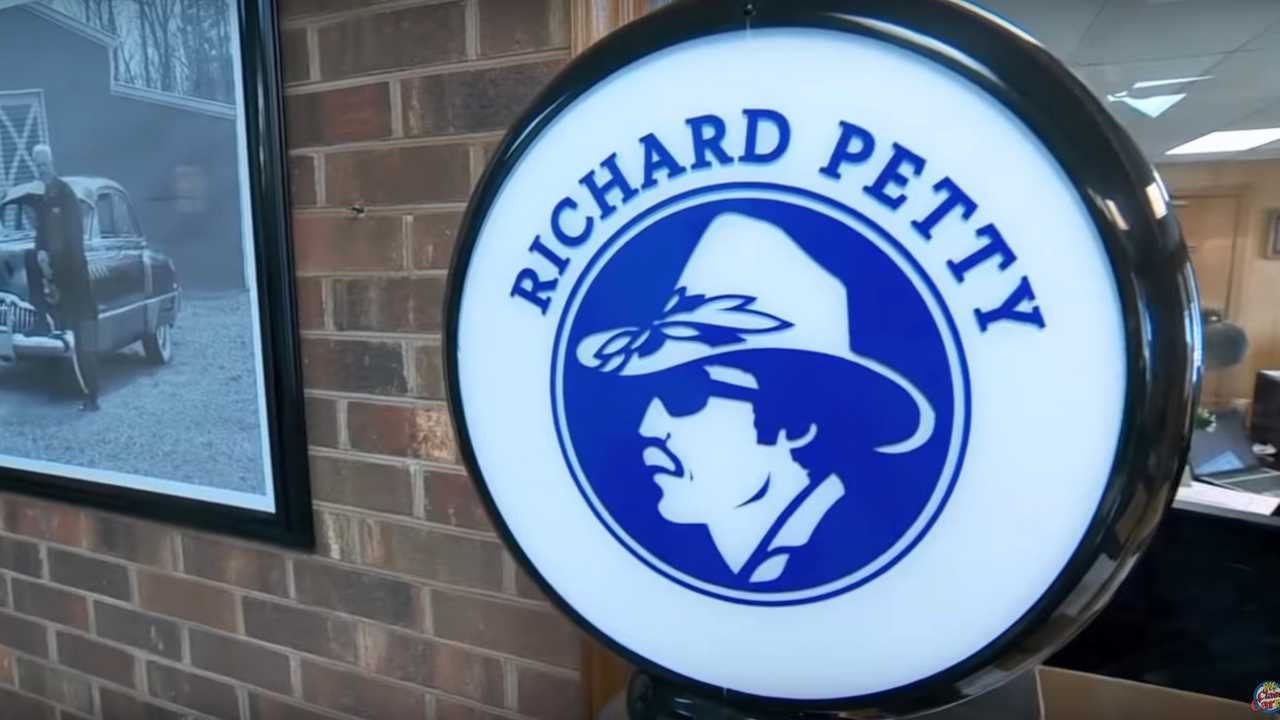 Video: Dennis Gage Checks Out Richard Petty's Car Collection