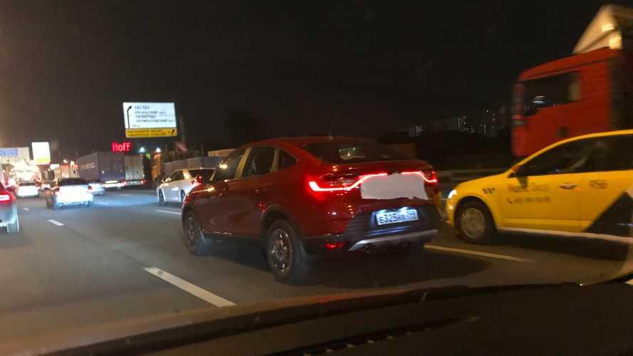 Новый Renault Arkana уже замечен на дорогах Москвы