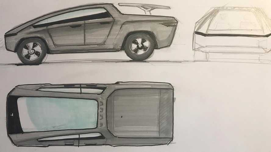 What Might Elon Musk's Tesla Cyberpunk Pickup Truck Look Like?