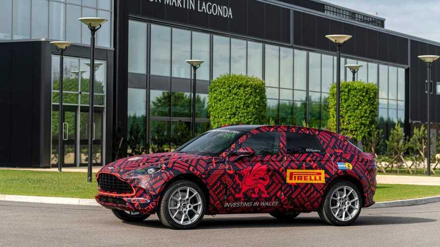 L'Aston Martin DBX sera lancé cette année