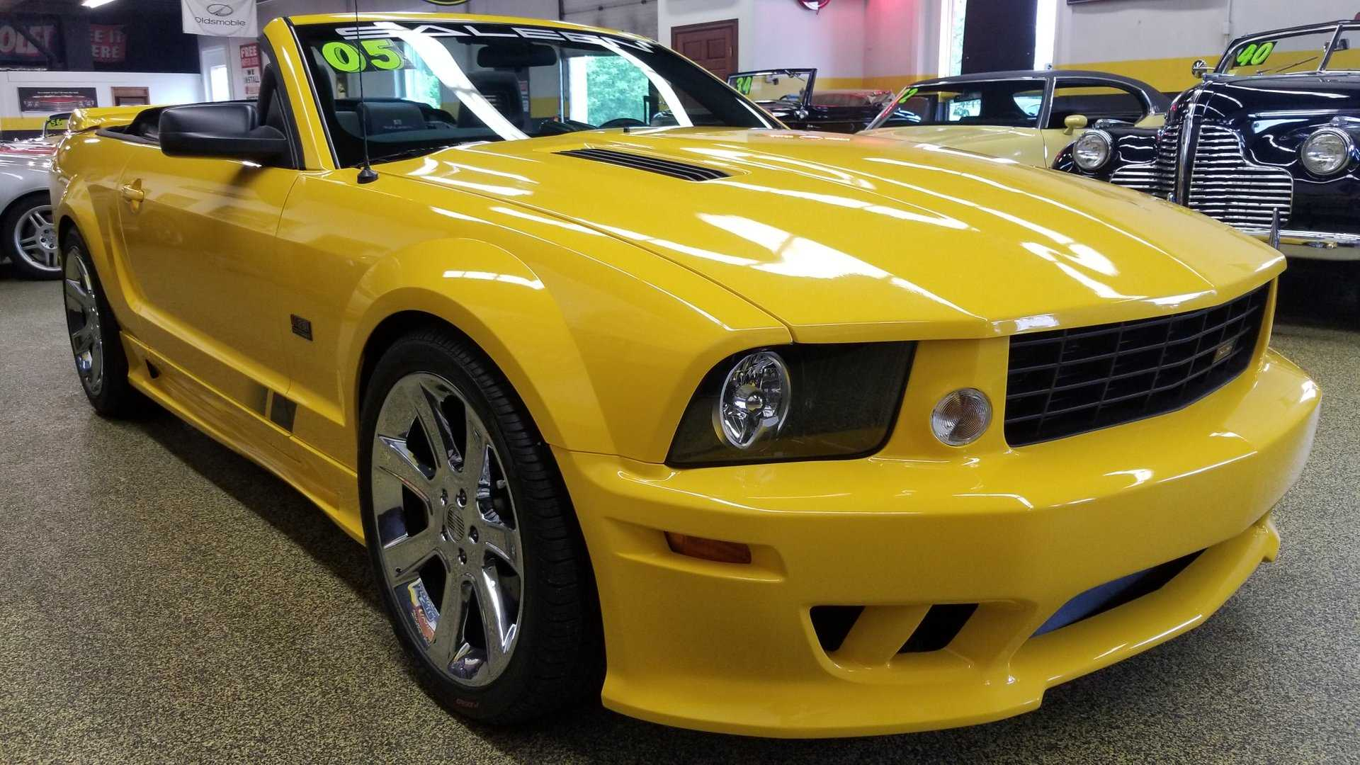 "[""2005 Ford Mustang Saleen S281SC Convertible""]"