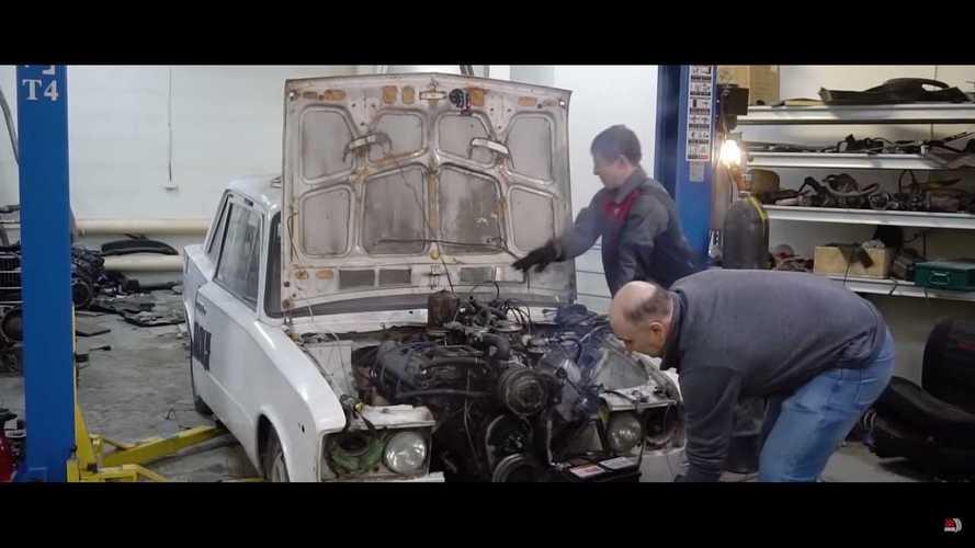 Lada V8 Engine Swap