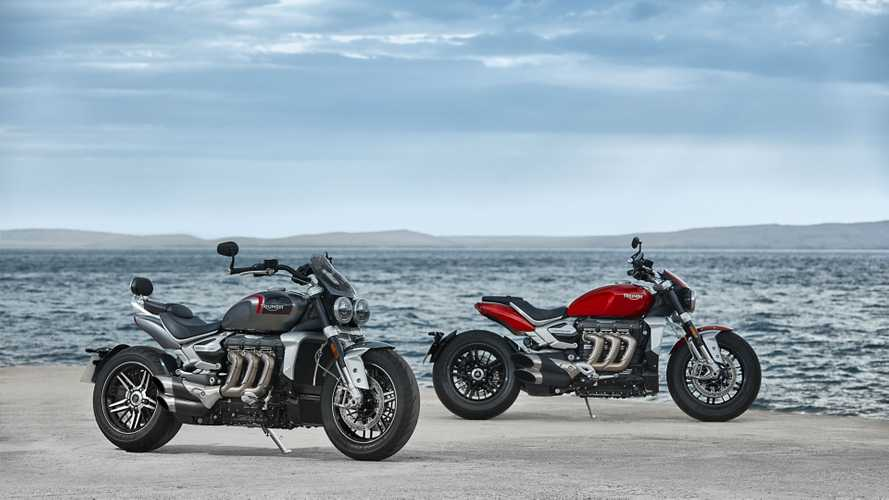 Triumph Rocket 3: il super-cruiser torna in doppia versione [VIDEO]