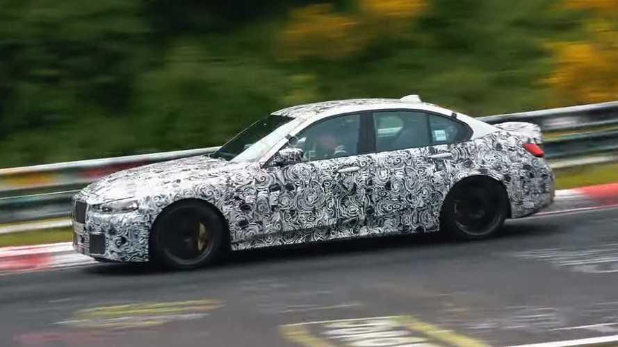 Прототипы новой BMW M3 проверяют Нюрбургрингом