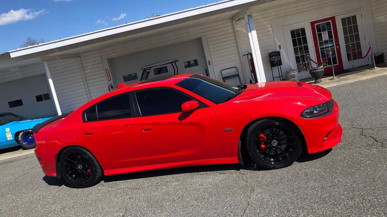 2016 Dodge Charger Scat Pack Gets Petty's Power Upgrade