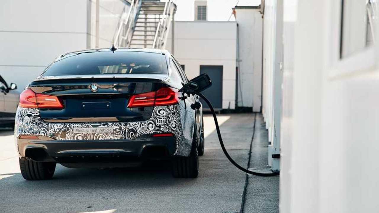 BMW Série 5 Prototype électrique