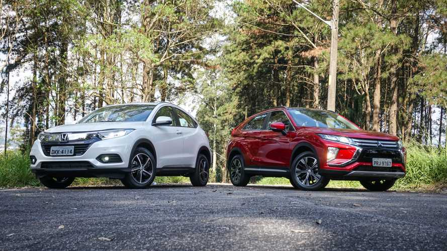 Comparativo Honda HR-V Touring vs. Mitsubishi Eclipse Cross: Cruzada nipônica