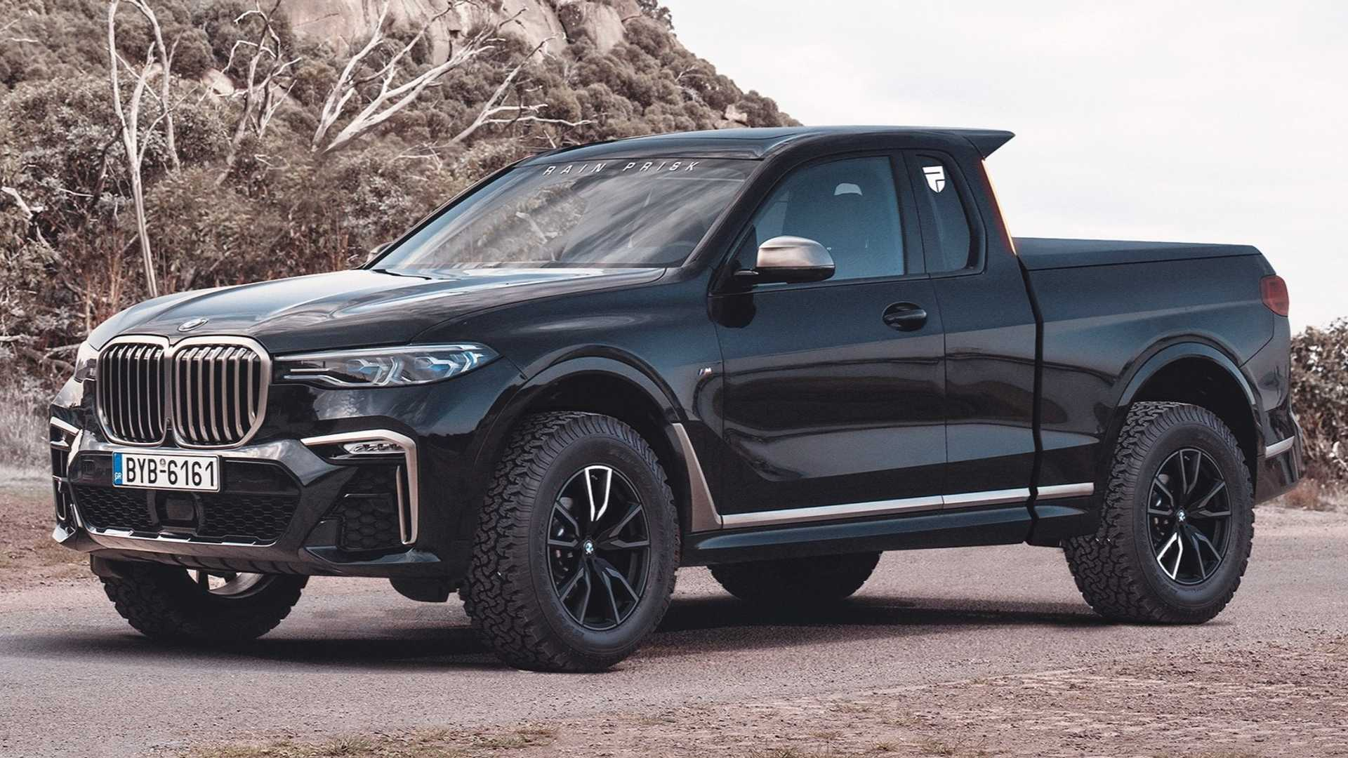 Bmw X7 Truck Unofficial Rendering Is Better Than The Real Thing