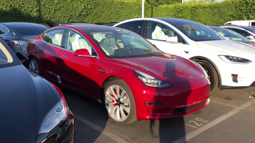 See First Walkaround Video Of Tesla Model 3 Performance