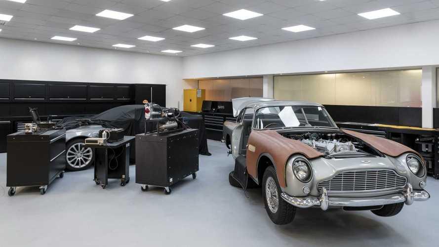 Aston Martin DB5 Goldfinger - Permis de s'amuser