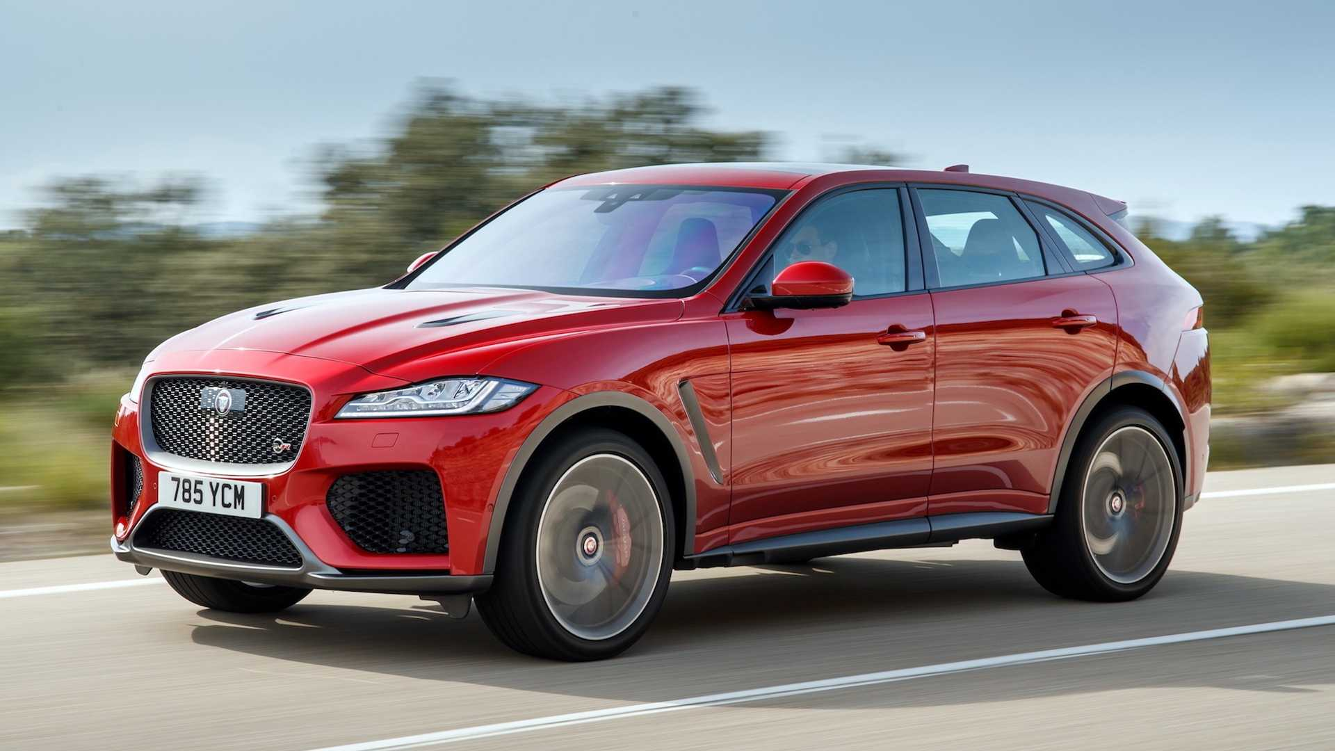 Jaguar Suv F Pace >> 2019 Jaguar F Pace Svr First Drive F That S Fast