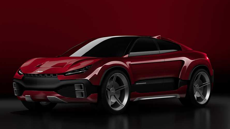 Jeep Trackhawk Coupe Renderings Imagine A Cool Futuristic Crossover
